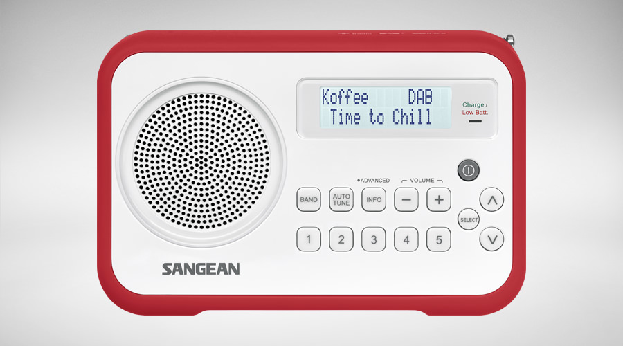 Sangean DPR-67 red Digital Radio