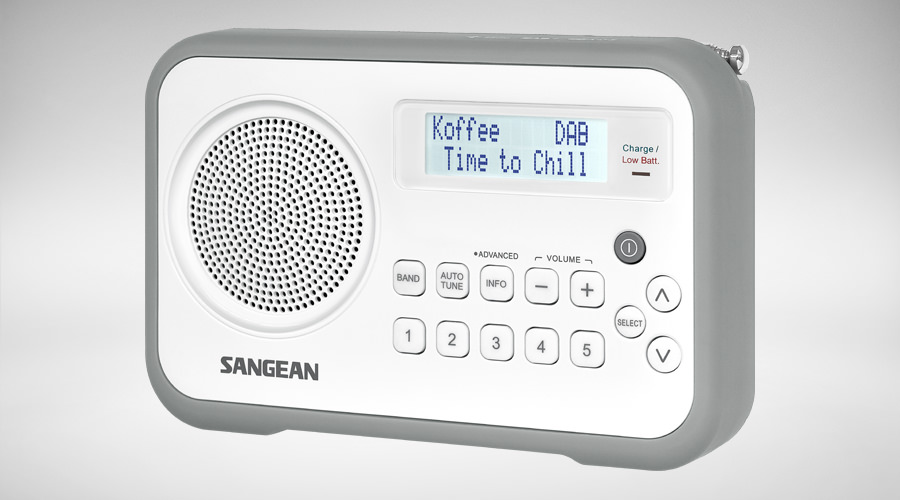 Sangean digital radio DPR-67 grey