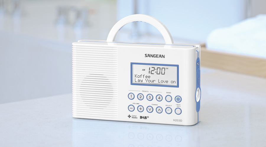 Sangean H-203D+ digital radio