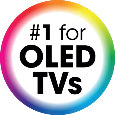 NumberOne for OLEDTVs logo EN